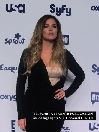 Keeping up with the Kardashians, E! Online, Telecast Upfronts publication, Telecast Upfronts, Khloe Kardashian, musicjournal.com, NBCuniversal upfront event